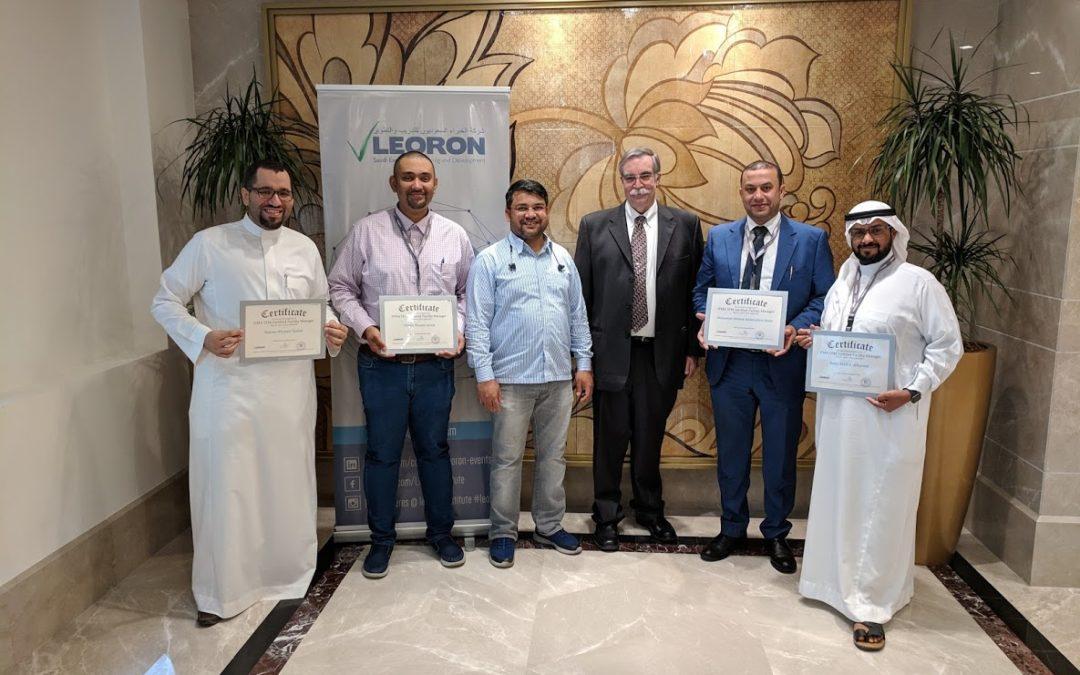 IFMA CFM Class – Jeddah 31 March – 4 April 2019